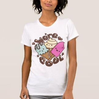 Kawaii somos camisa fresca del helado