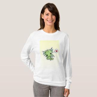 """Kawaii suéter de la camiseta del dragón de """"poco"""