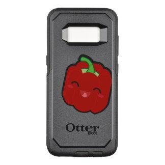 Kawaii y pimienta roja divertida funda otterbox commuter para samsung galaxy s8