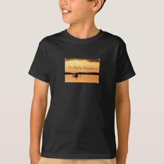 Kayakers de triple estado camiseta