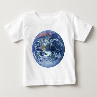 ~ KE de la TIERRA v.2 (Sistema Solar) del PLANETA Camiseta Para Bebé