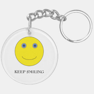 Keep Smiling Llavero