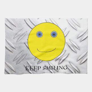 Keep Smiling Paño De Cocina