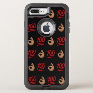 #Keepit100 caso más de Otterbox del iPhone 7 Funda OtterBox Defender Para iPhone 7 Plus