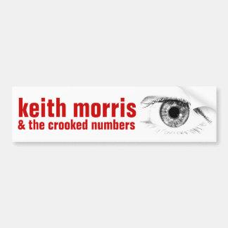 Keith Morris y la pegatina para el parachoques
