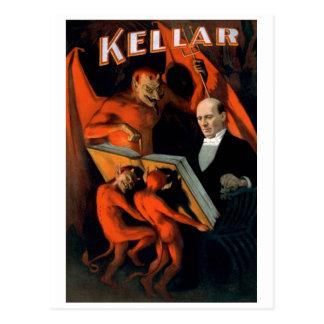 """Kellar - postal """"de las instrucciones del diablo"""""""