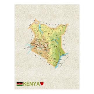 ♥ Kenia de las POSTALES del MAPA