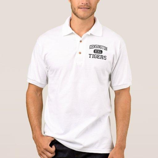 Kensington - tigres - alto - Philadelphia Camisetas Polos