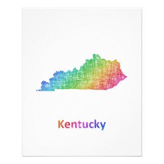 Kentucky Folleto 11,4 X 14,2 Cm