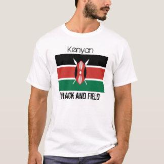 Kenya_flag, Kenyan, atletismo Camiseta