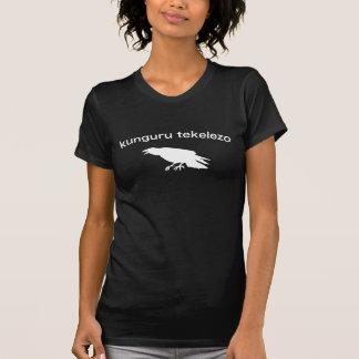 Kenyan - atletismo del cuervo camiseta