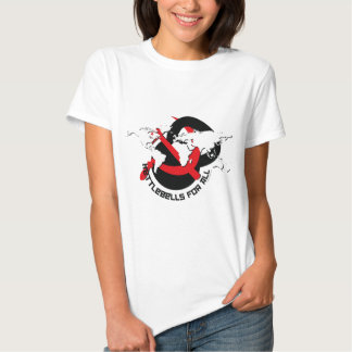 Kettlebells para todos camiseta
