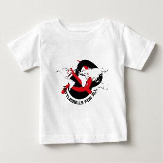 Kettlebells para todos camiseta de bebé