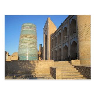 Khiva, Chiwa, Uzbekistán Kalta Minor minarete Postal