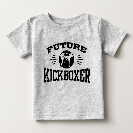 Kickboxer futuro camiseta de bebé