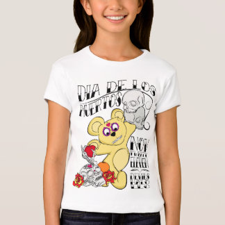 Kids Dia De Los Muertos Camiseta