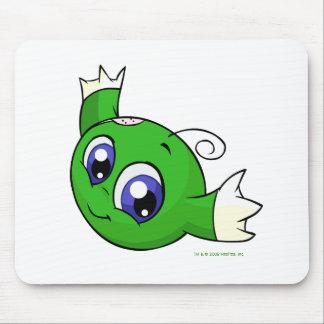 Kiko verde que remolina alfombrilla de ratón