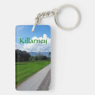 Killarney Llavero Rectangular Acrílico A Doble Cara