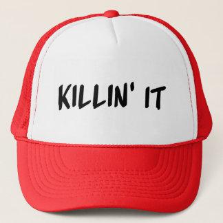 Killin él gorra del camionero