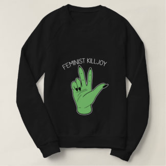 Killjoy feminista sudadera