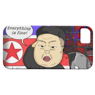 Kim Jong Un i-Phone Case iPhone 5 Case-Mate Protectores