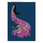 Kimono de Koi Felicitacion