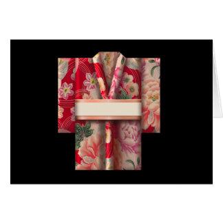 Kimono de Origami Felicitacion