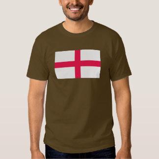 Kingdome del mapa/de la bandera de Inglaterra Camisas