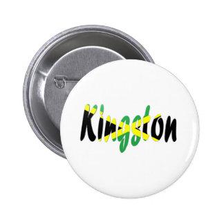 Kingston, Jamaica Chapa Redonda De 5 Cm