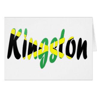 Kingston, Jamaica Tarjeta De Felicitación
