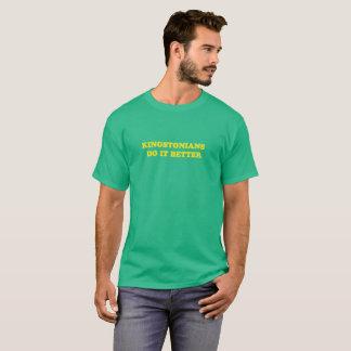 Kingstonians mejora la camiseta