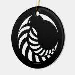 Kiwi de NZ/emblema del helecho de plata Ornamente De Reyes