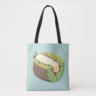 Kiwi fruit illustration bolso de tela