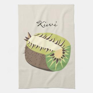 Kiwi fruit illustration paño de cocina