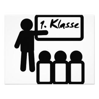 Klasse del erste del primer grado anuncio personalizado