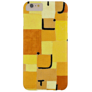 Klee - caracteres en amarillo funda barely there iPhone 6 plus