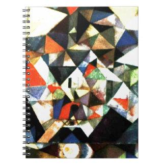 Klee: Con el huevo, pintura de Paul Klee Libros De Apuntes Con Espiral