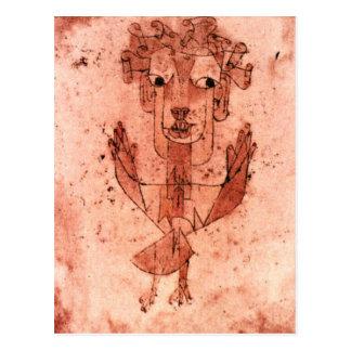 Klee - nuevo ángel (ángelus Novus) Postal
