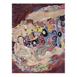 Klimt, Gustavo Catal?: Los bordes de Les mueren Postal
