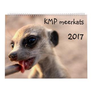 KMP Meerkats - calendario 2017