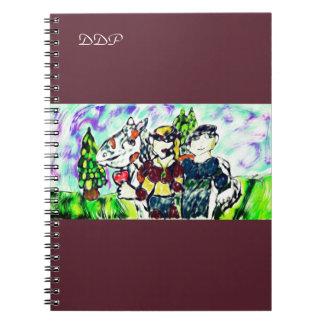 knights historia de amor cuaderno