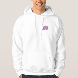 Knotty Hippo - back Sudadera