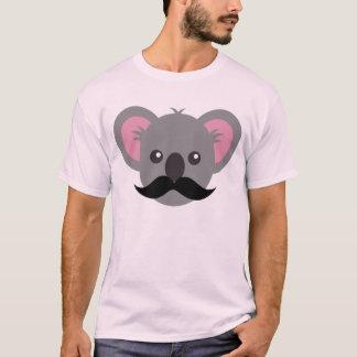 Koala del bigote camiseta