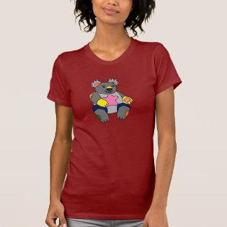 Koala del remiendo camiseta