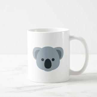 Koala emoji taza de café