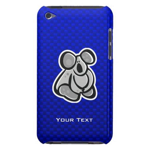 Koala linda; Azul iPod Touch Case-Mate Protectores