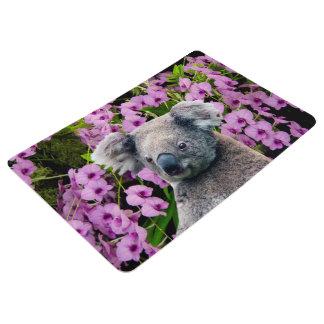 Koala y orquídeas alfombra