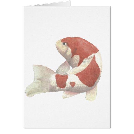 Kohaku solitario tarjeta de felicitación
