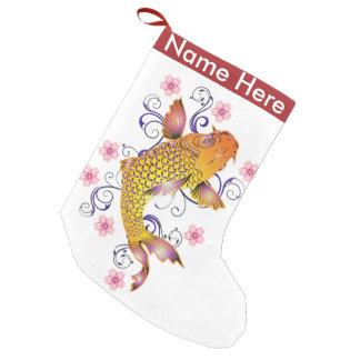 Koi hermoso calcetín navideño pequeño