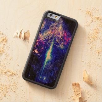 Koi iridiscente cósmico funda protectora de cerezo para iPhone 6 de carved